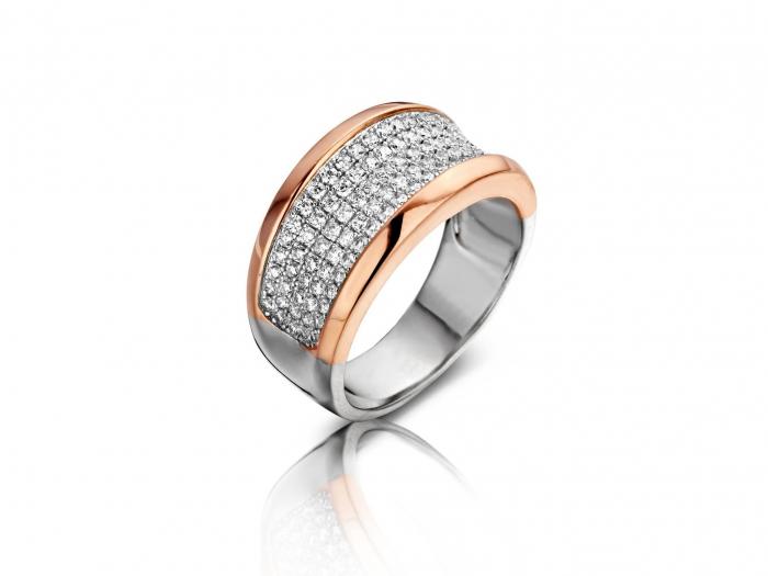 טבעת כסף 925 R6318-R