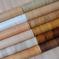 """טפטים עם מדבקה דגמי עץ נגד כתמים, מים וחום - בגודל גליל של 10 מטר * 60 ס""""מ"""