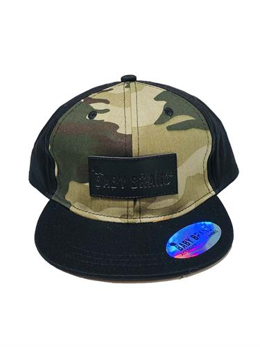 כובע שחור קמופלאז' BABY BRAND