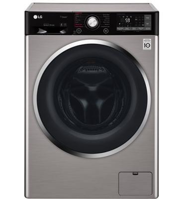 """מכונת כביסה פתח קידמי LG F10514WV 10.5 ק""""ג"""