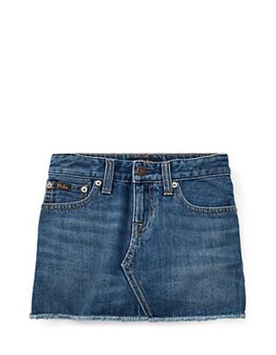 חצאית ג'ינס חיתוך 2-7