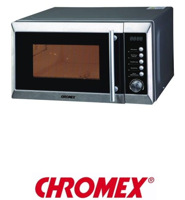 CHROMEX מיקרוגל דיגיטלי 20 ליטר דגם CH521