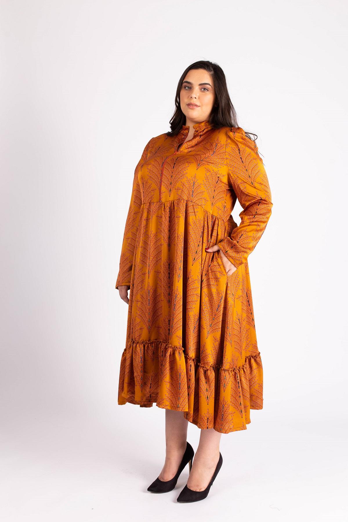 שמלת ג'ייד חרדל
