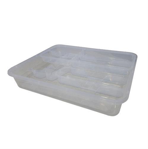 סדרן סכום פלסטיק שקוף