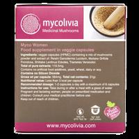 -- מיקו וומן - MYCO WOMEN -- מכיל 50 כמוסות צמחיות HPMC, מיקוליביה