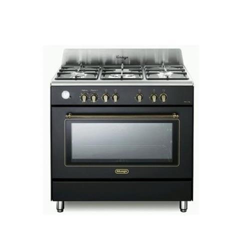 """תנור משולב כיריים 90 ס""""מ 5 להבות Delonghi NDS952 דה לונגי"""