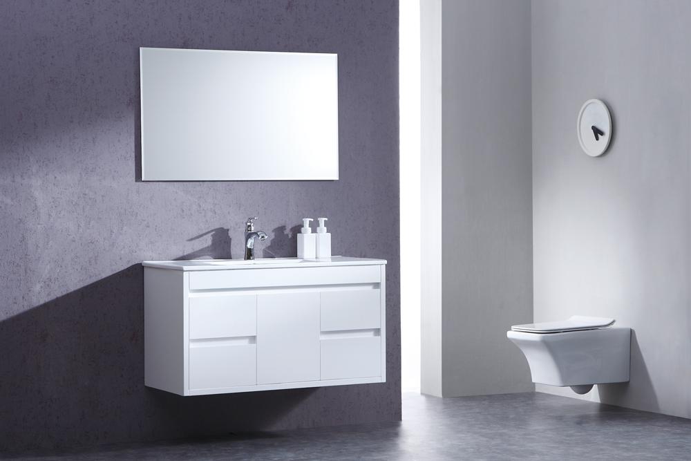 ארון אמבטיה תלוי בעיצוב נקי דגם אורנוס URANUS