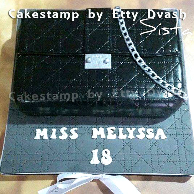 Dior Texture Stamp Texture Cakestamp By Etty Dvash