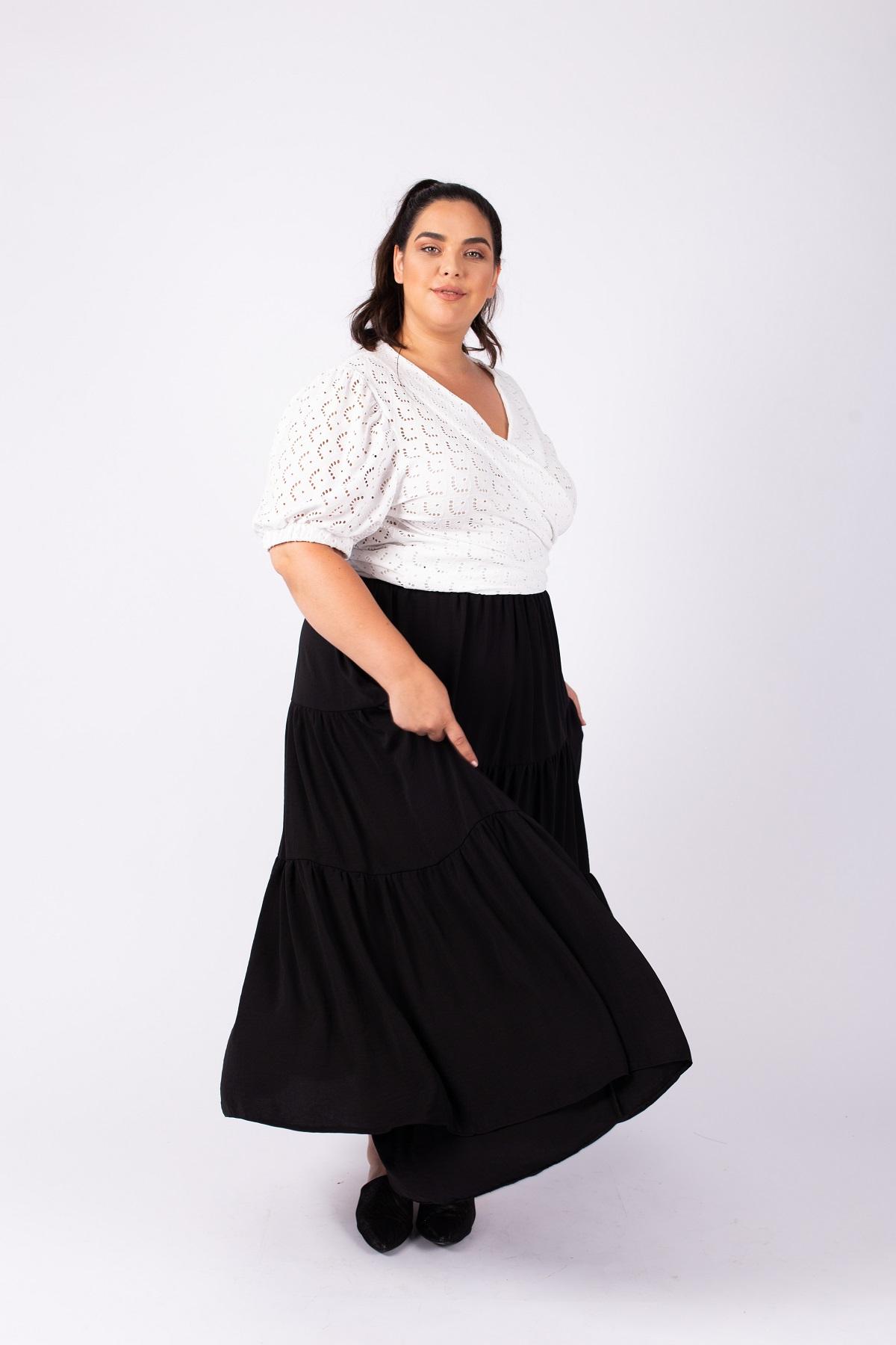 חצאית גולדי שחור