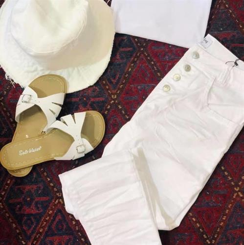 מכנסי FLOG לבן