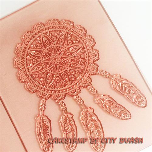 Indian Dream catcher 2 -  stamp