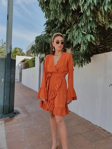 שמלת אנדראה - קורל