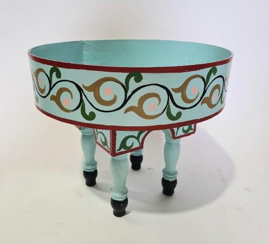שולחן עמוק מצוייר - S
