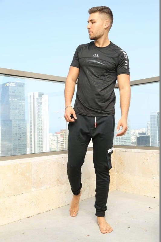 חולצת PROFIT ספורט לגבר גרין אופנה