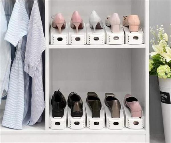סט 8 יחידות מעמד אחסון לנעליים