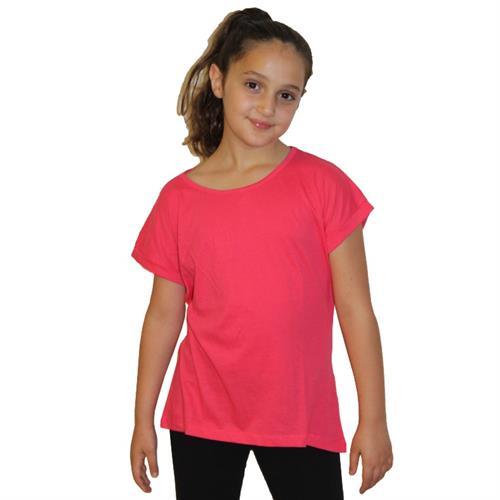 חולצת בית ספר מבצע 8 ב-99.90 ₪ בנות צוואר עגול