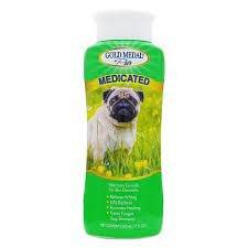 """שמפו רפואי לכלבים גולד מדל מדיקטייד 500 מ""""ל"""