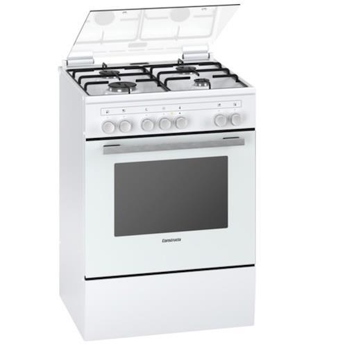 תנור אפייה משולב כיריים קונסטרוקטה Constructa CH755326IL