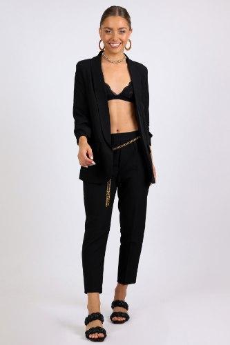 חליפת קארין מחוייטת  שחור