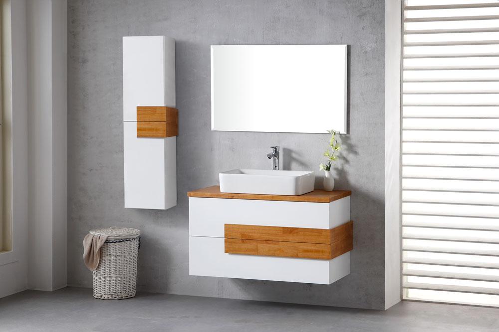 ארון אמבטיה תלוי קלאסי דגם נרקיס NARKIS