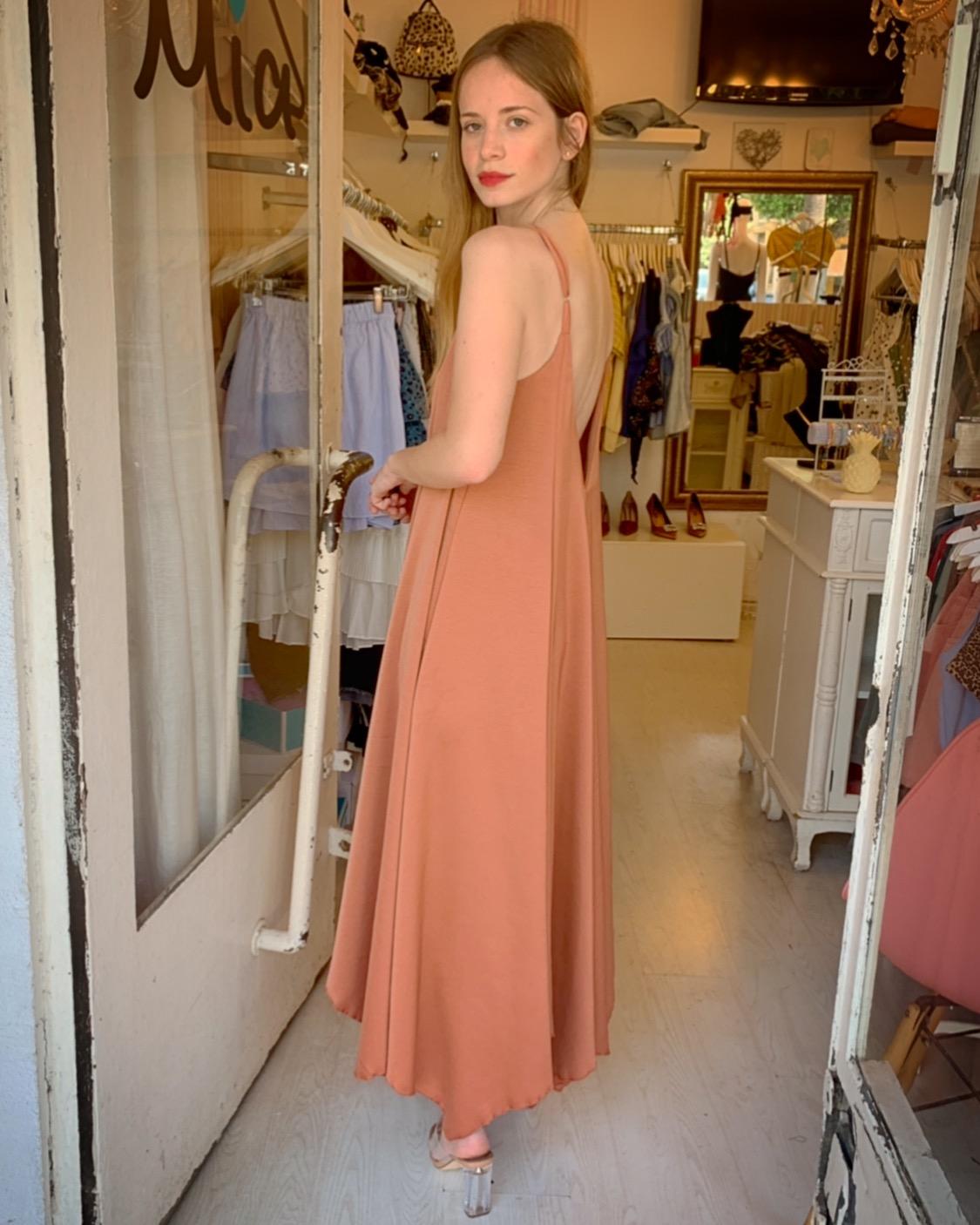 שמלת ליאל - אפרסק