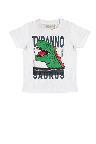 חולצת דינוזאור ירוק בנים