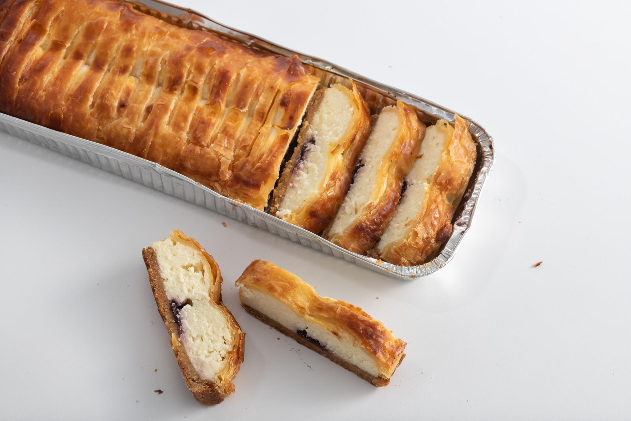 עוגת גבינה אוכמניות