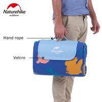 מחצלת NATURE HIKE - כחול דגים