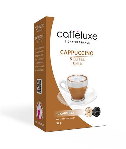 caffeluxe Cappuccino קפוצ'ינו תואם נספרסו
