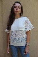 חולצת רונה לבנה