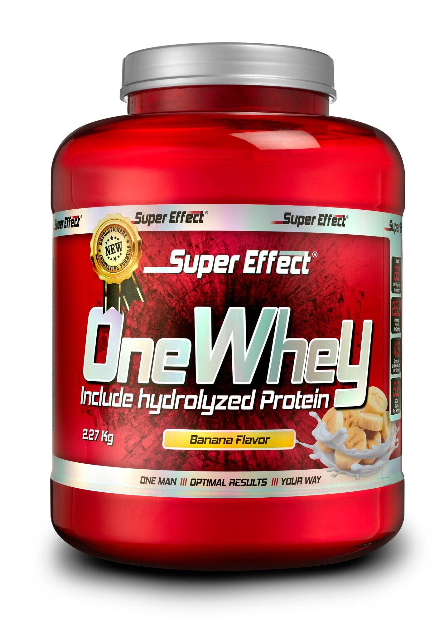 Super Effect אבקת חלבון סופר אפקט 2.3 ק״ג כשרה