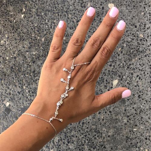 צמיד טבעת שאדי עמנואל - כסף 925
