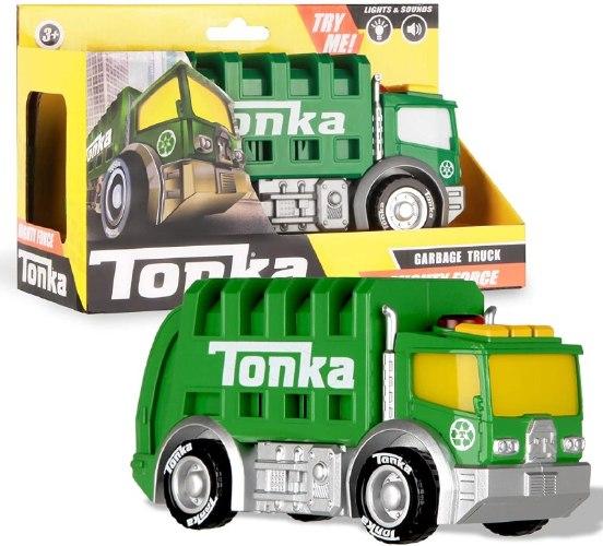 טונקה משאית זבל אורות וצלילים