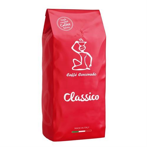 """פולי קפה 1 ק""""ג Caffe Corcovado Classico"""