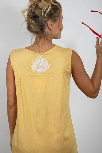שמלת מיילי צהובה
