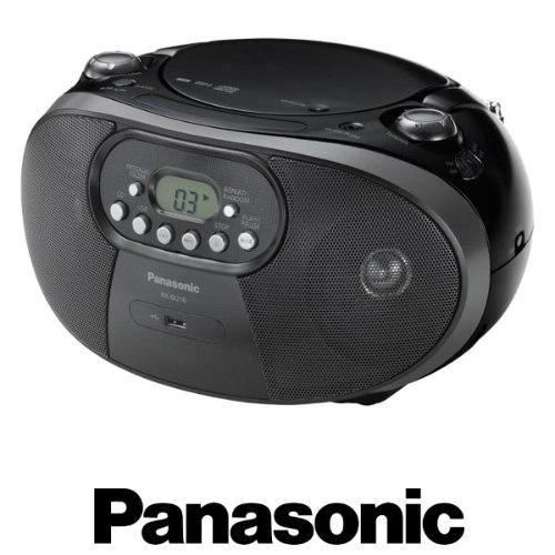 Panasonic מערכת שמע ניידת דגם RXDU10K