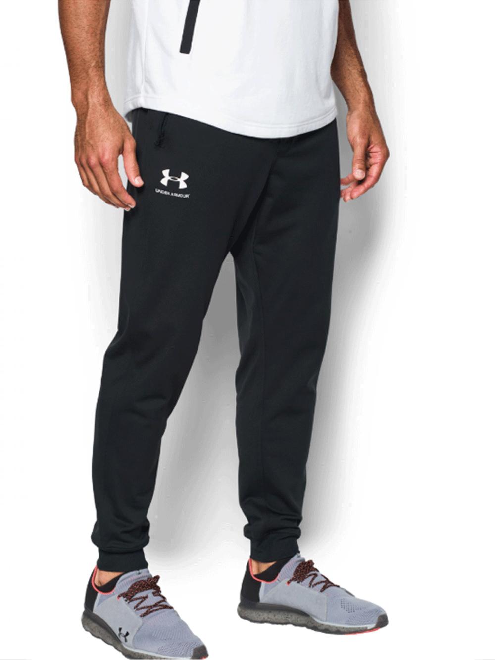 מכנסי אימון אנדר ארמור שחור לגבר 1290261-001 Under Armour Sportstyle Joggers