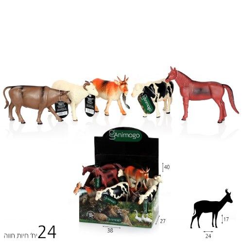 חיות Animogo חווה 12 אינצ'