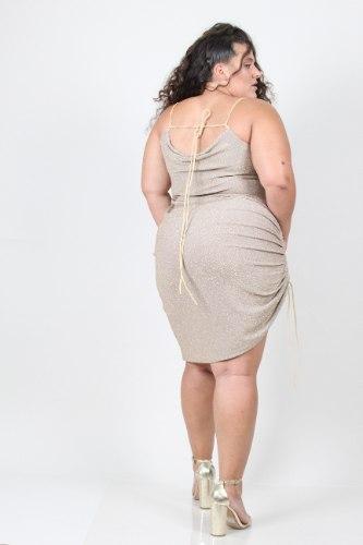שמלת ריין לורקס זהב
