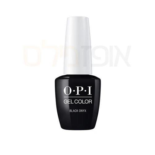 opi ג'ל צבע OPI black Onyx