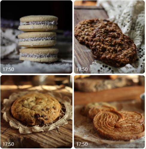 רביעיית עוגיות בוטיק- מארק האופה