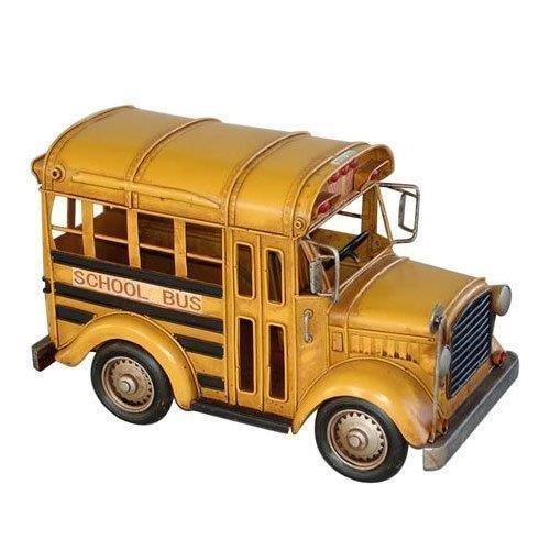 מיני אוטובוס צהוב רטרו