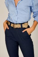 מכנס מייגן  מחטב כחול