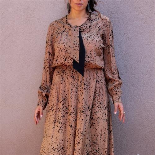 שמלת מידי שפריצות של צבע מיוחדת מידה M/L