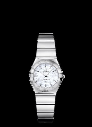 שעון יד אנלוגי אומגה נשים 24 מ״מ, מנגנון קווארץ - משווק מורשה