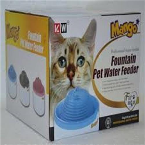 Mango תמי בר 1.5 ליטר  MANGO FOUNTAIN PET WATER FEEDER