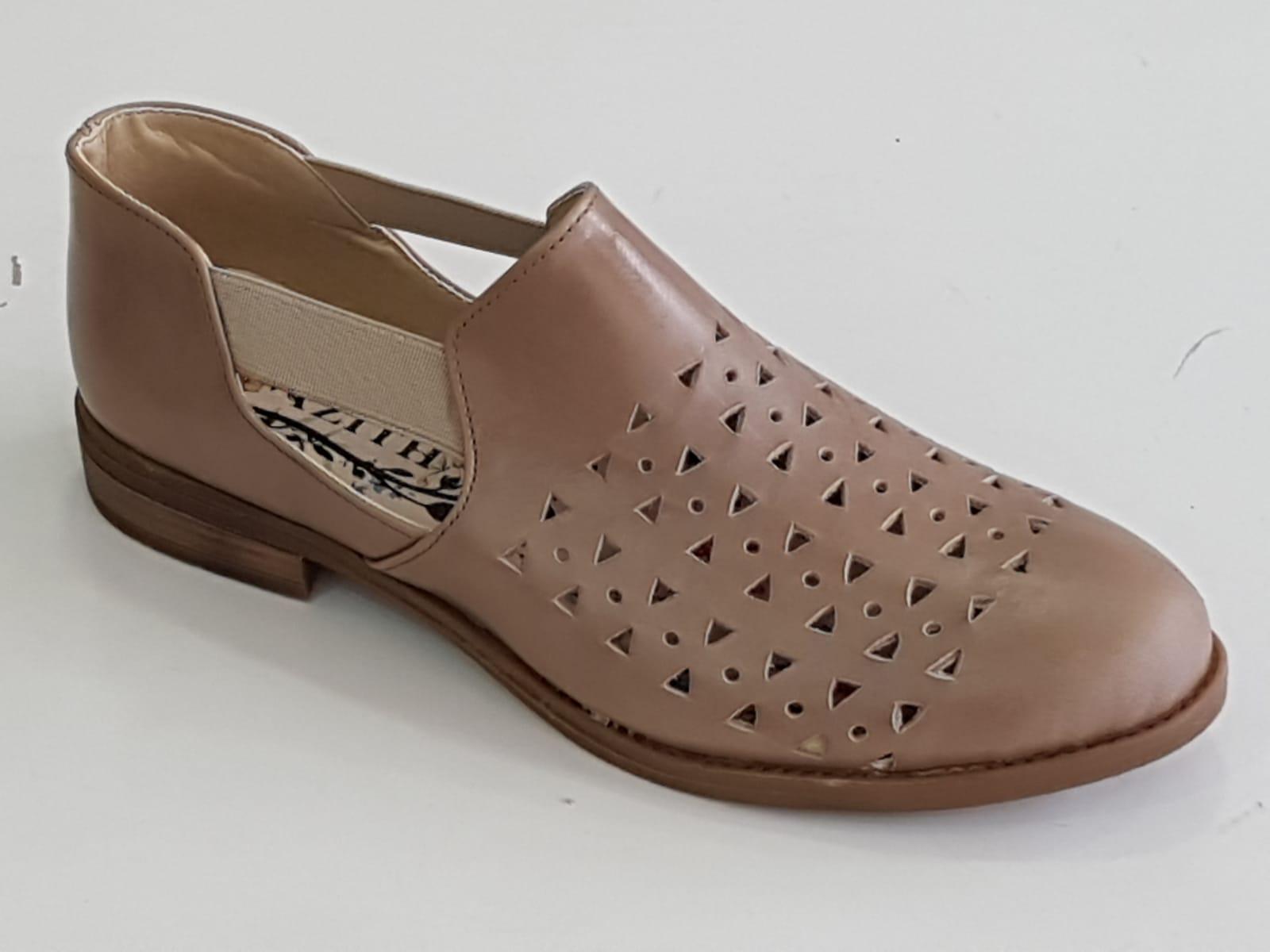 נעל לייזר עור + גומיות