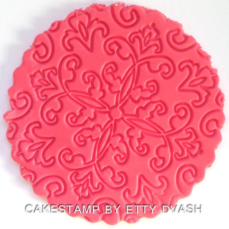 Lace decoration mat