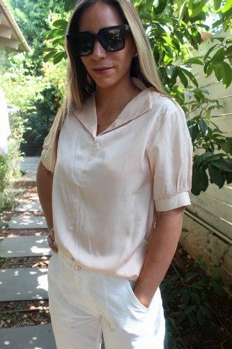 חולצת סיילור אפרסק