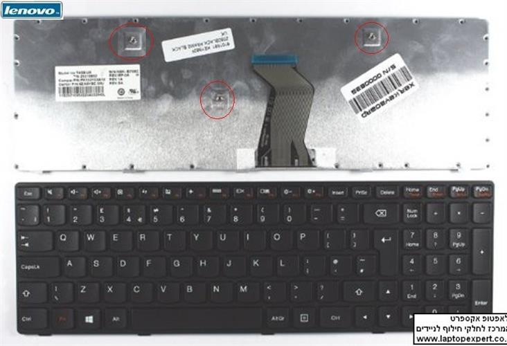 מקלדת להחלפה במחשב נייד לנובו IBM Lenovo Ideapad G400 G410 G500 G505 G510 G510A laptop Keyboard